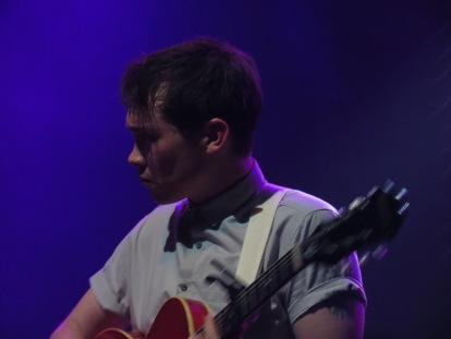 Ben Richards on acoustic guitar