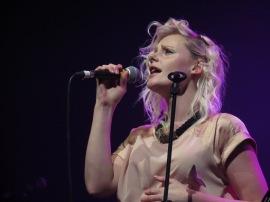 Georgia Train of Bitter Ruin exercising her fantastic vocals