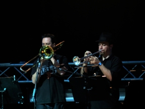 Ray and the other mark, on trumpet/strings and trombone